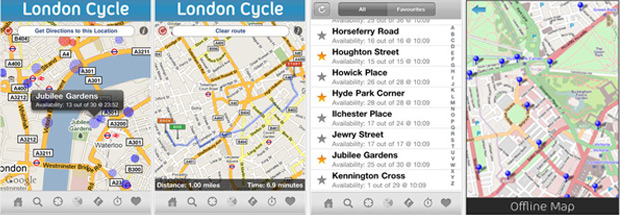 London Cycle: Maps & Routes
