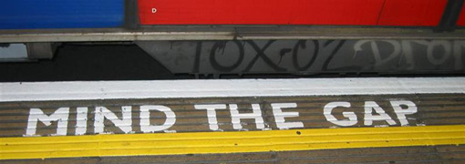 mind the gap londra