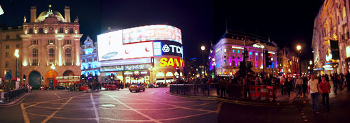 piccadilly circus center