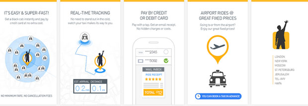GetTaxi – The Taxi Booking App